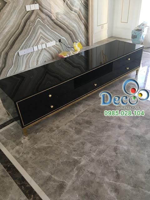 Kệ Tivi Đẹp Để Sàn Deco DB04-3