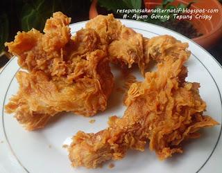 Resep Ayam Goreng Tepung Bumbu Ala KFC