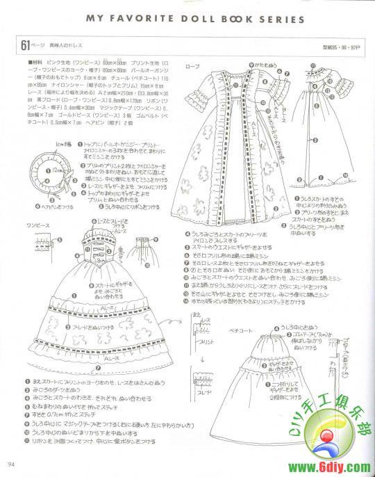 Eccezionale CREAZIONI CON STOFFA: BARBIE - Abbigliamento modelli di libri YI33