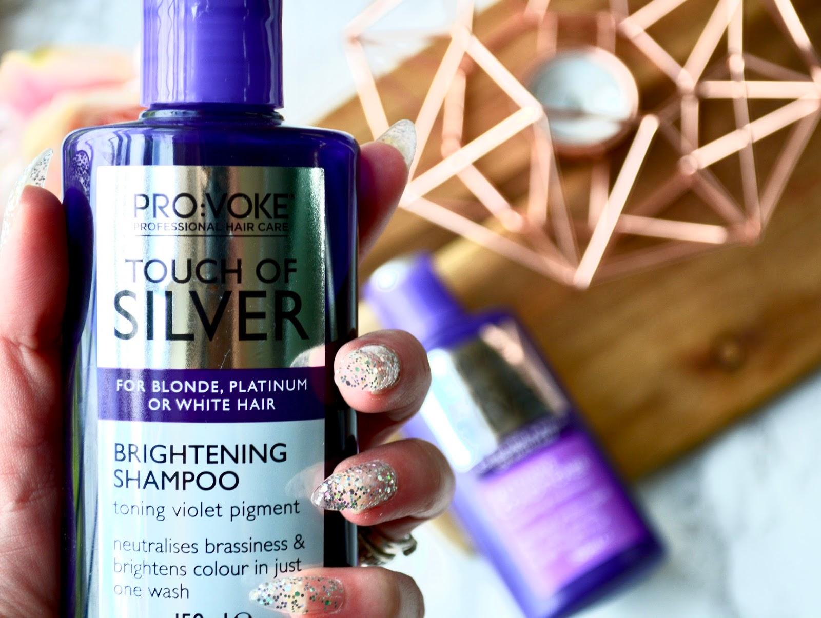 PROVOKE Touch Of Silver Shampoo & Conditioner