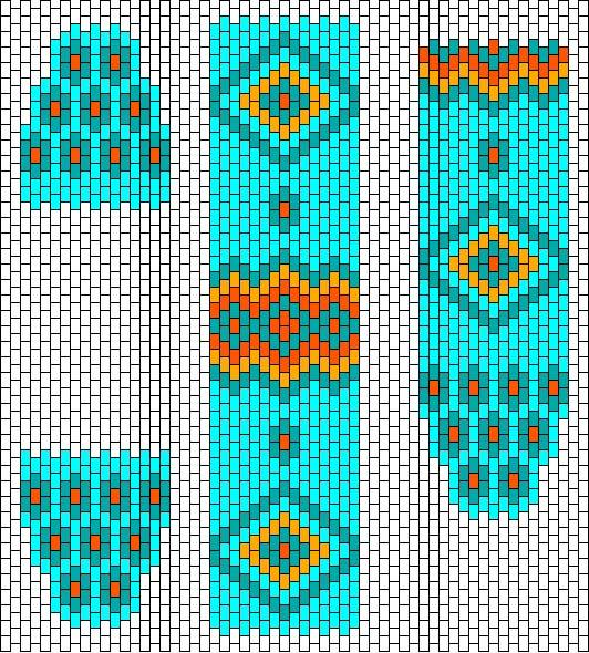 Beadbag Free Beaded Bracelet Chart