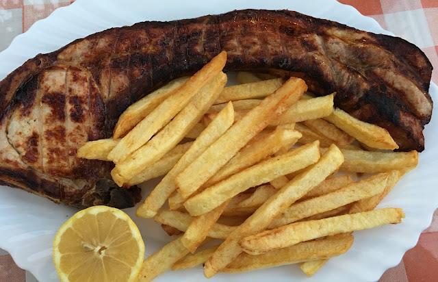 Cyprus pork chops
