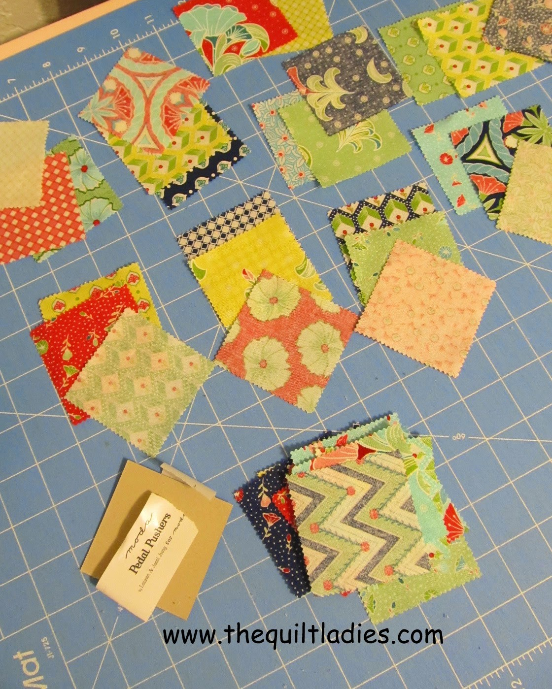 9-Patch Table Topper Pattern and Tutorial