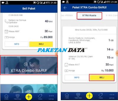 Cara Membeli Paket Xtra Kuota XL 30 GB Hanya Rp 10 Ribu