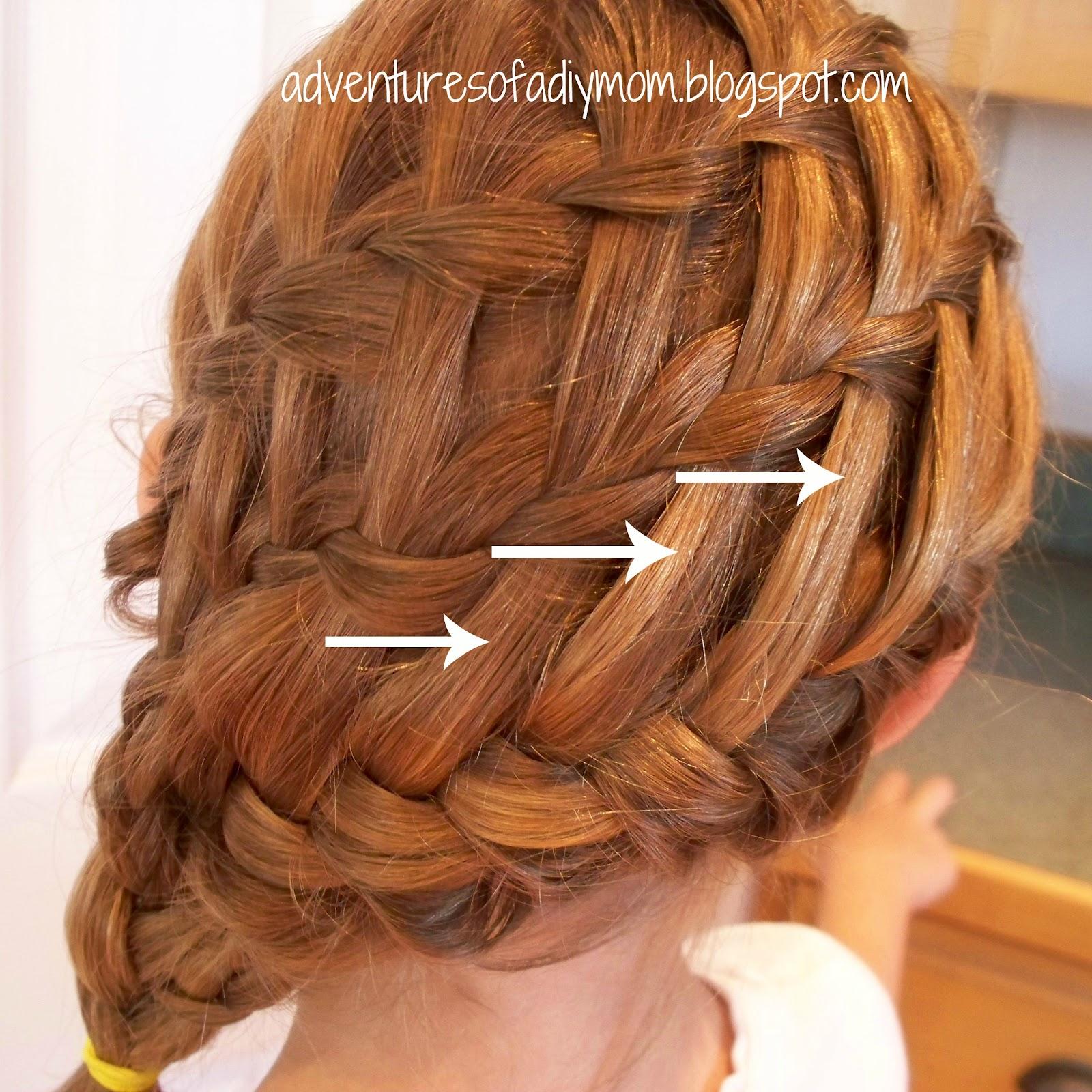 Mini Hair Series Triple Braid Adventures Of A Diy Mom