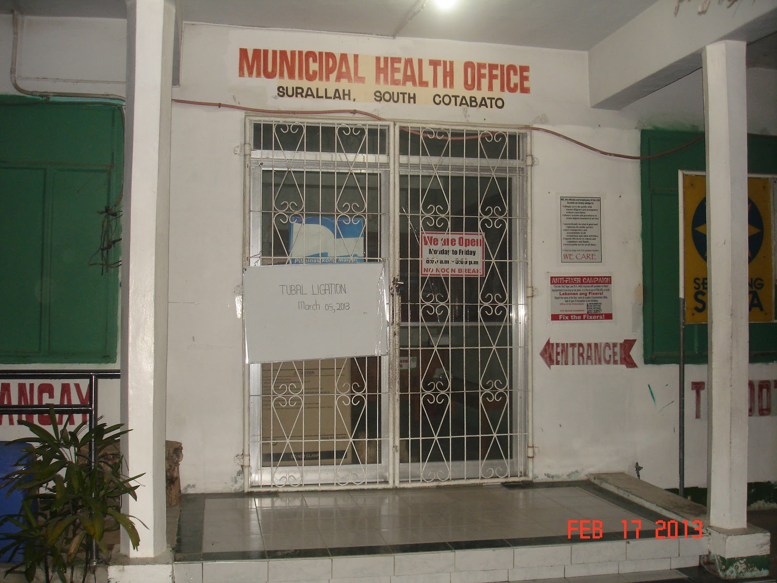 Barangay health center informayion system