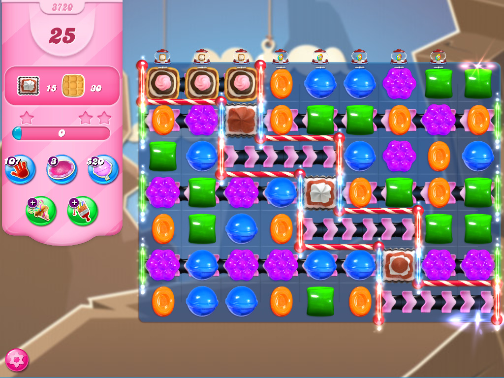 Candy Crush Saga level 3720
