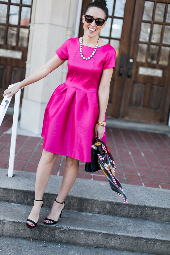 Here&Now: Shabby Apple pink party dress
