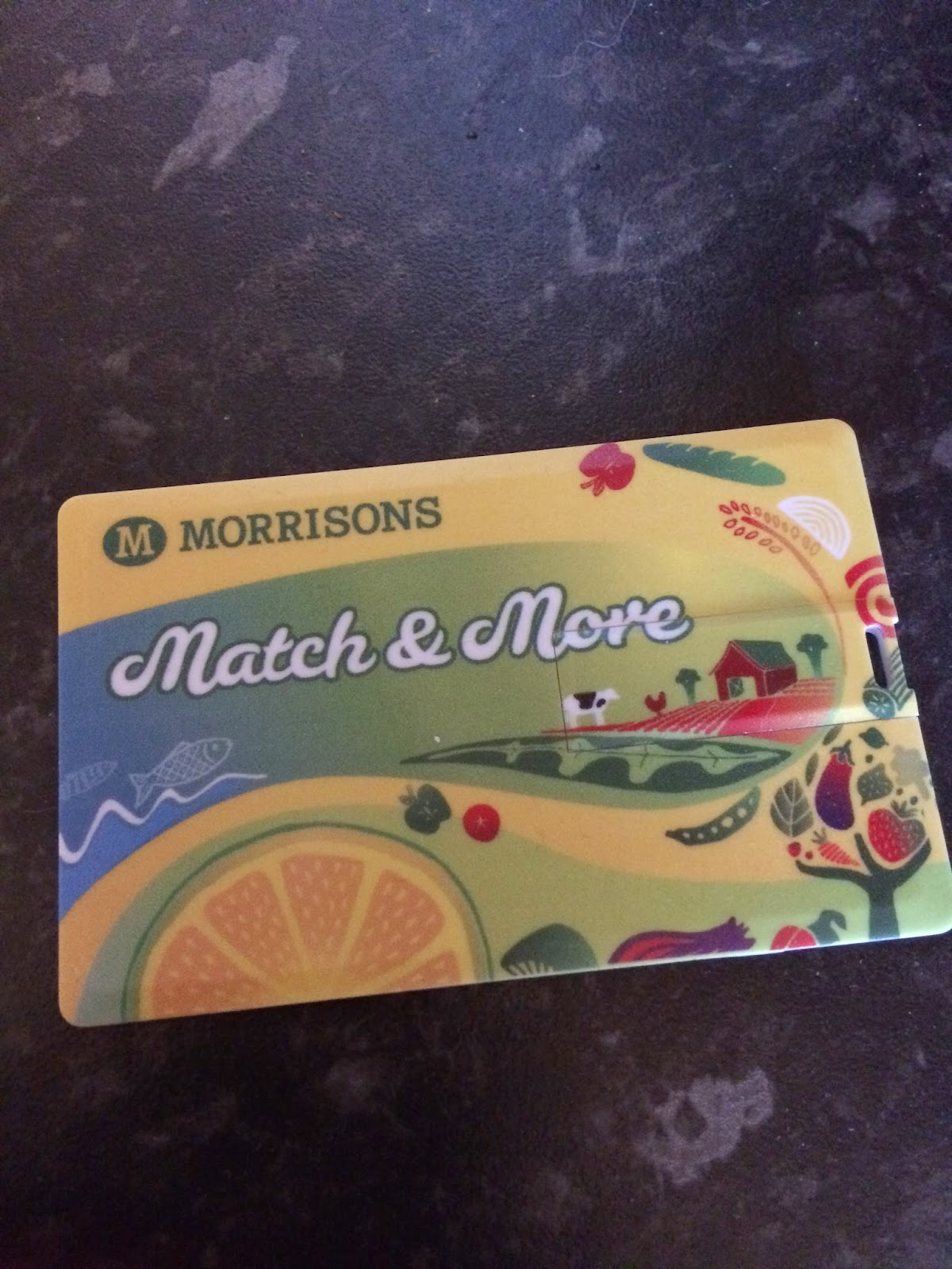 Morrisons Match and More card