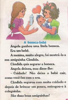Leitura A boneca-bebê
