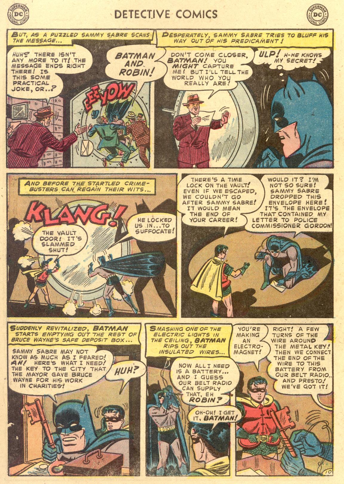 Read online Detective Comics (1937) comic -  Issue #194 - 12