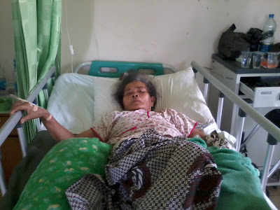 Nenek Wastiyah Terserang Stroke