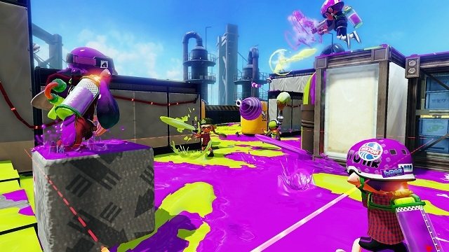 Splatoon Shooting Game
