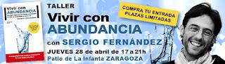 La Abundancia llega a Zaragoza con AraCoach y Sergio Fernández