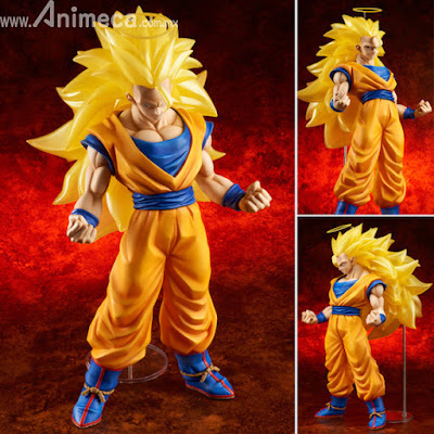 Figura Son Goku (Super Saiyajin 3) Edición Limitada Gigantic Series Dragon Ball Z