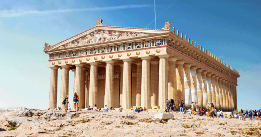 7 Beautiful Ancient Monuments: This Is What They Would Look Like Today In Their Original Locations