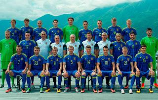 Ukrajnai fotbal válogatott csapat