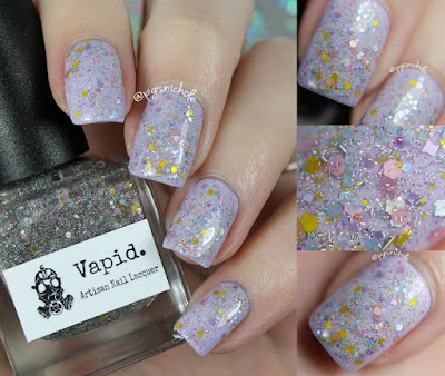 Vapid Lacquer Pretty Pretty Princess over Saraswati