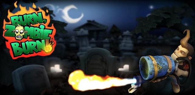 Game: Burn Zombie Burn 1.0.8 APK + DATA