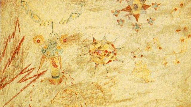Lucy in the sky with diamonds. Dibujo de Julian Lennon