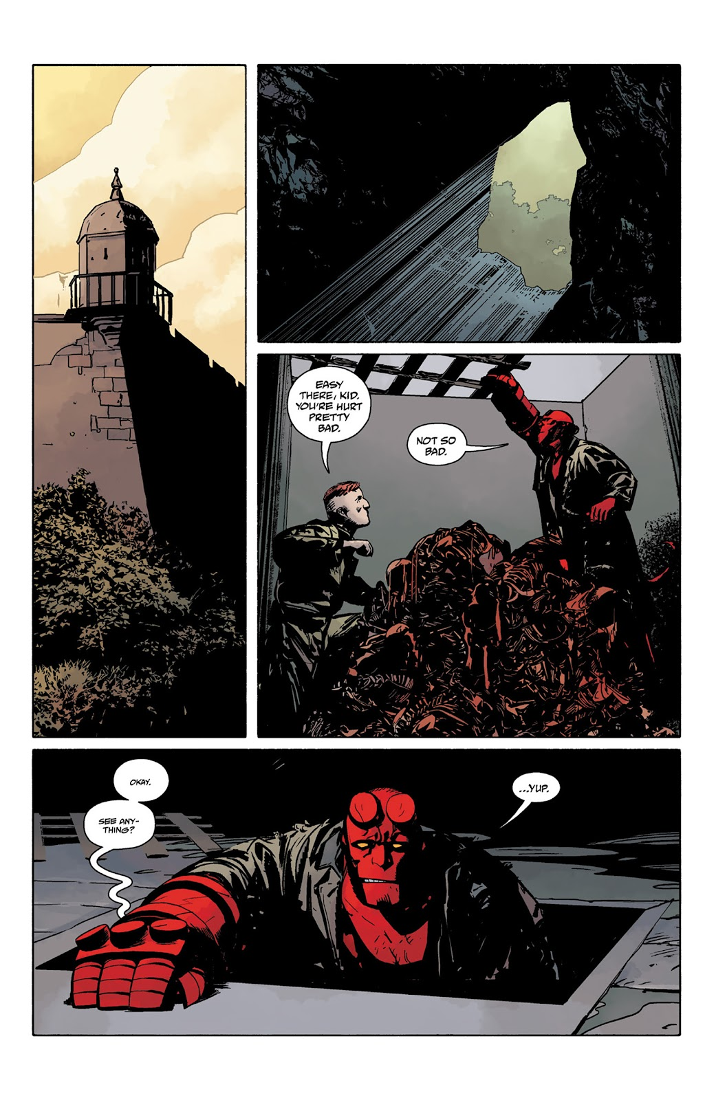 Read online Hellboy and the B.P.R.D. comic -  Issue # _TPB - 80
