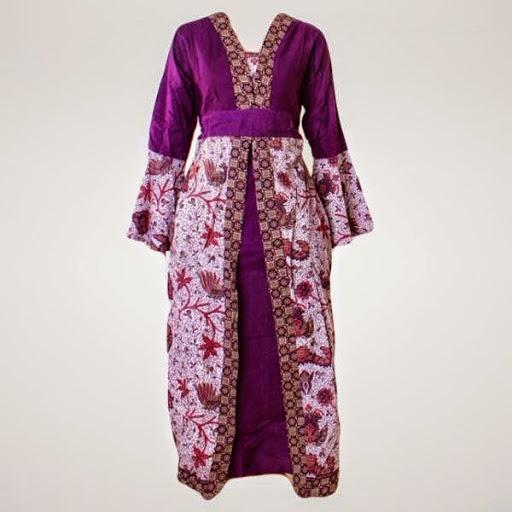 Baju Batik Modern Untuk Orang Tua: Contoh Baju Hamil Pesta Batik Modern Terbaru 2016/2017