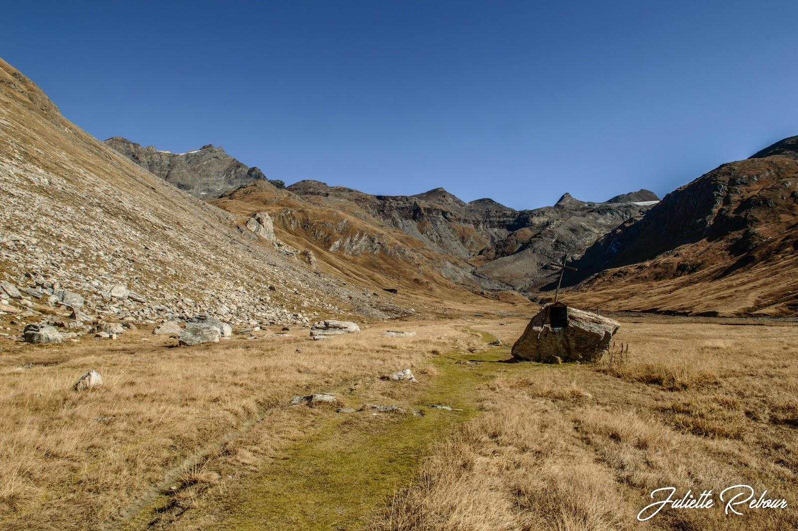 Randonnée jusqu'au refuge du Prariond, Parc National de la Vanoise