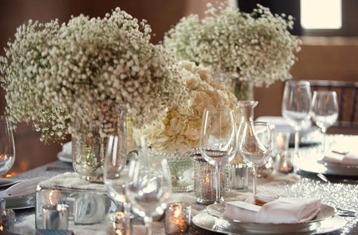 "white-wedding-flower-receptionc-enterpieces.original Tableau da appoggio ""insolito""Cards Tableau"