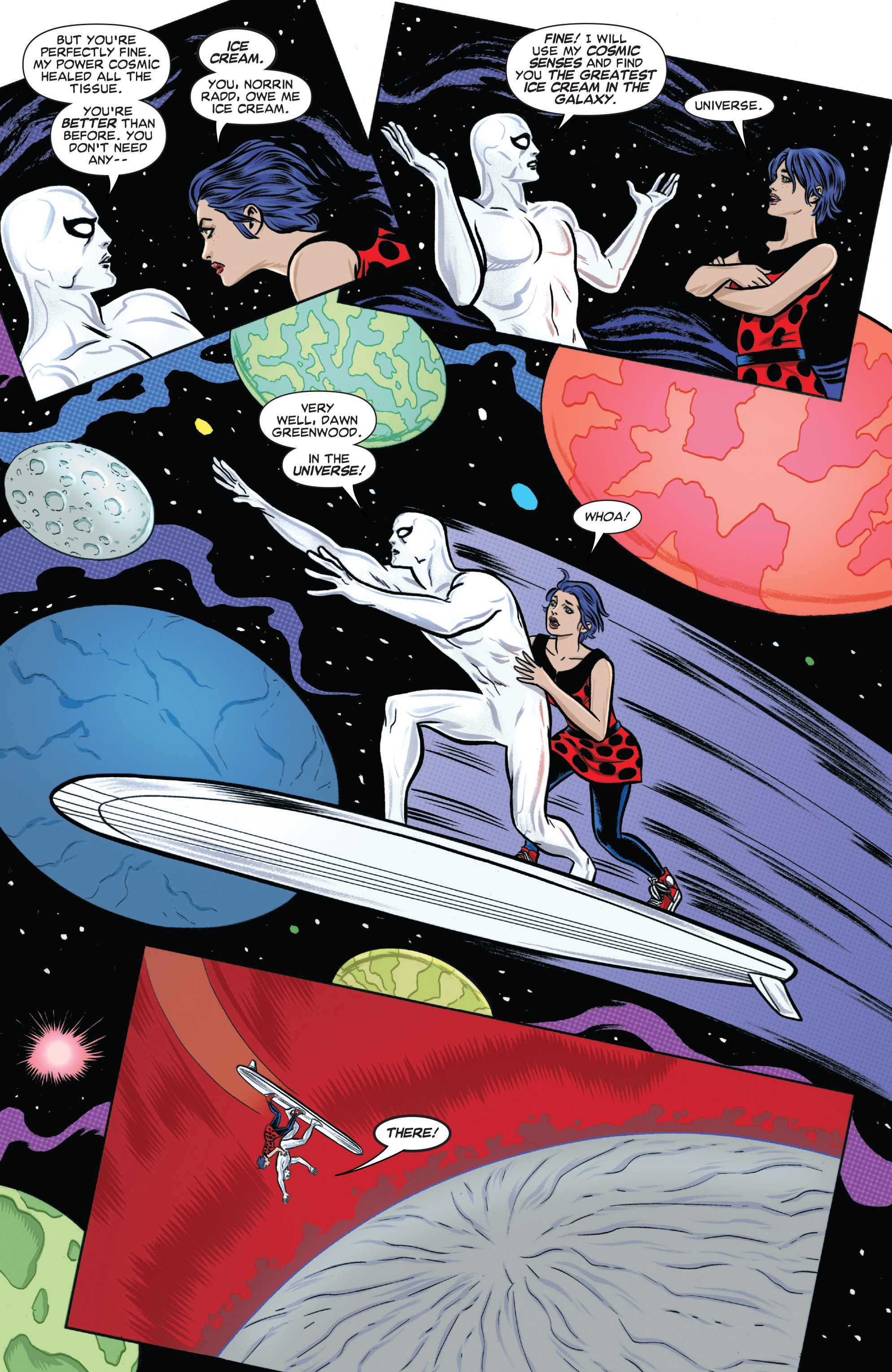 Read online Silver Surfer (2014) comic -  Issue #6 - 8