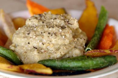Gluten-Free Recipe : Baba Ghanoush (Eggplant Dip)