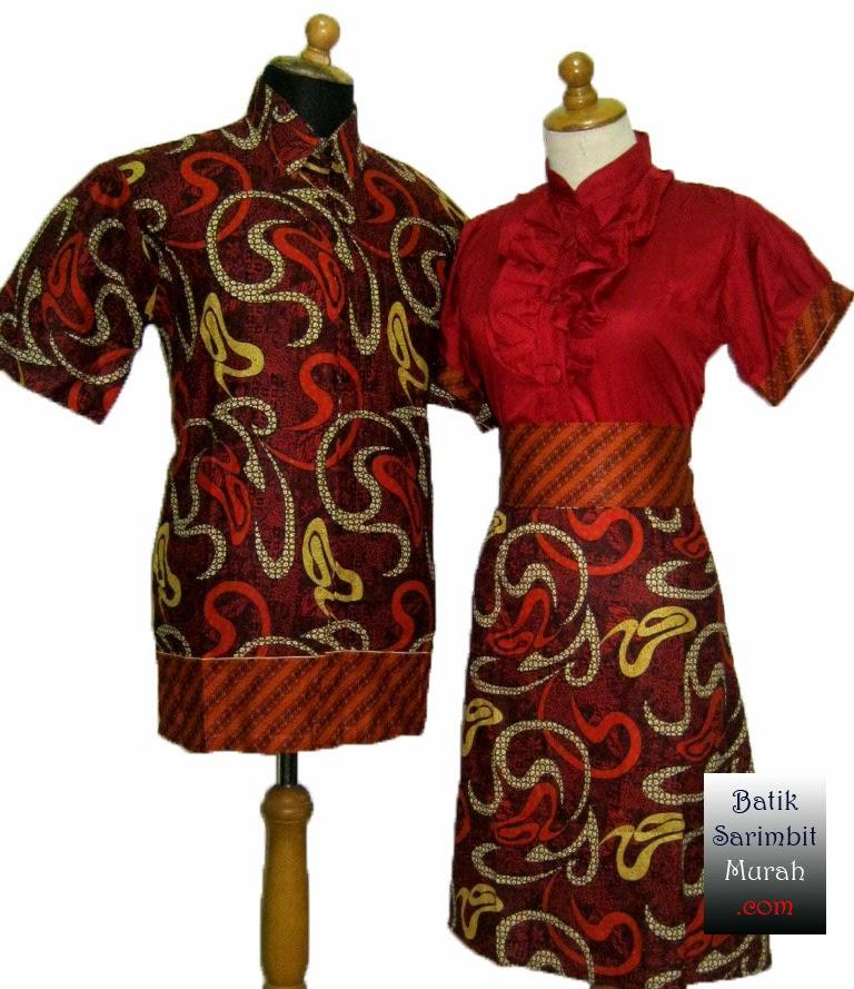 10 Model Baju Batik Sarimbit Modern Terbaru 2018: Model, Desain, Gambar Model Baju Batik Wanita Modern Terbaru