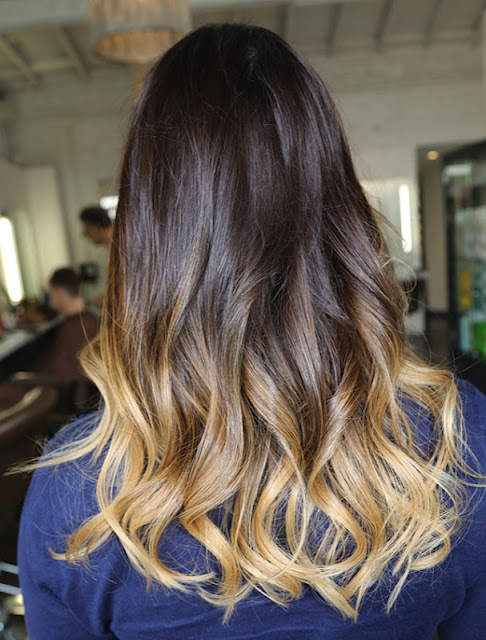 Going Subtle Ombre Whats Next For My Hair Veronikas Blushing