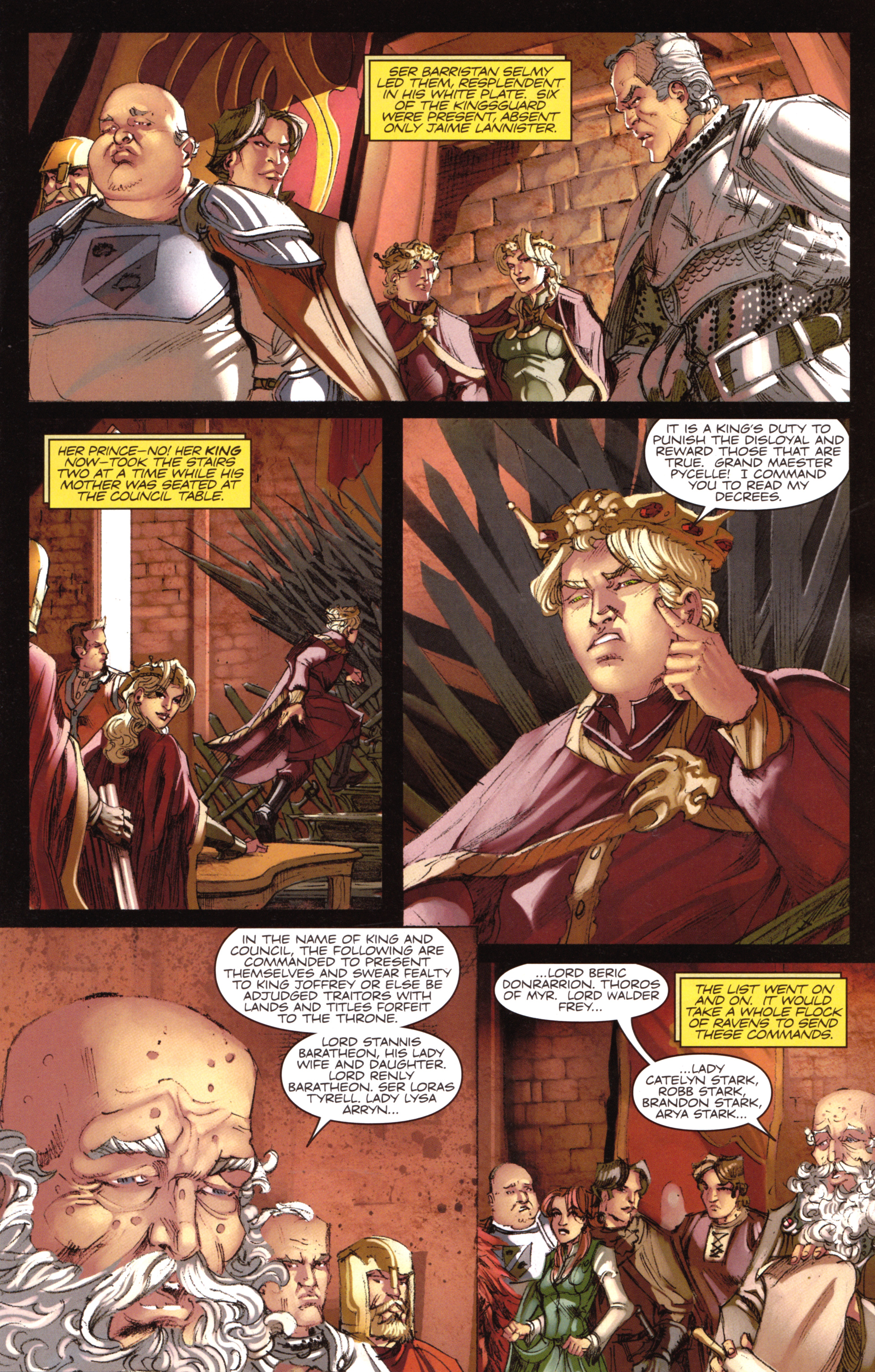 Read online A Game Of Thrones comic -  Issue #18 - 15