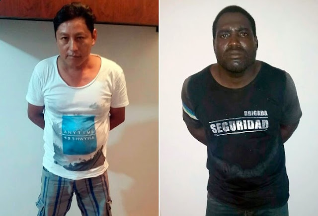 fotos culpables asesinato jovenes argentinas montañita