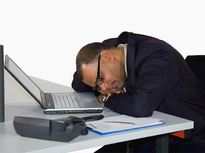 ngantuk di jam kerja