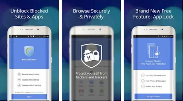 Hotspot Shield Free VPN Proxy Screenshot