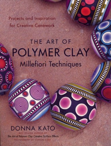 The Art of Polymer Clay by Donna Kato book cover