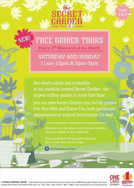Free Guided Tour The Secret Garden 1 Utama Malaysian