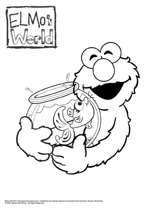 Hermosa Bebé Elmo Para Colorear Ideas - Ideas Para Colorear ...