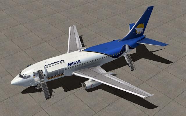 Boeing 737-200c - Milviz SP5 FSX/Prepar3d - Ariel Creation - Flight