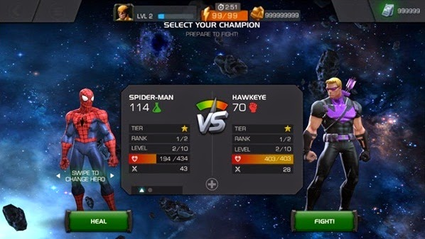 How to get gold in marvel contest of champions