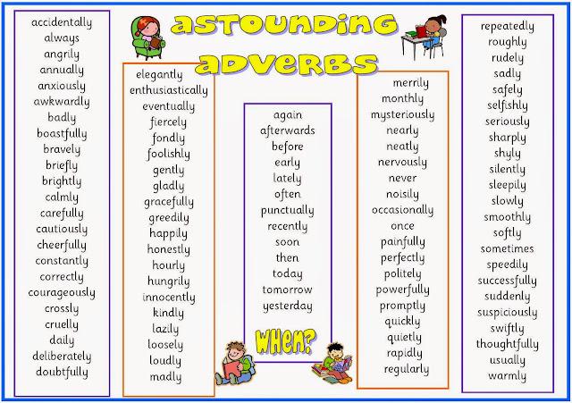 Resultado de imagen de adverbs