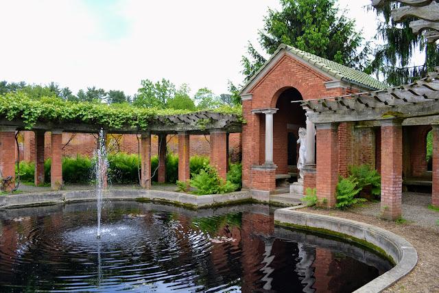 Маєток Фредеріка Вандербільта в Долині Гудзону, Гайд-Парк, Нью-Йорк (Vanderbilt Mansion National Historic Site New York, Hyde Park, NY)