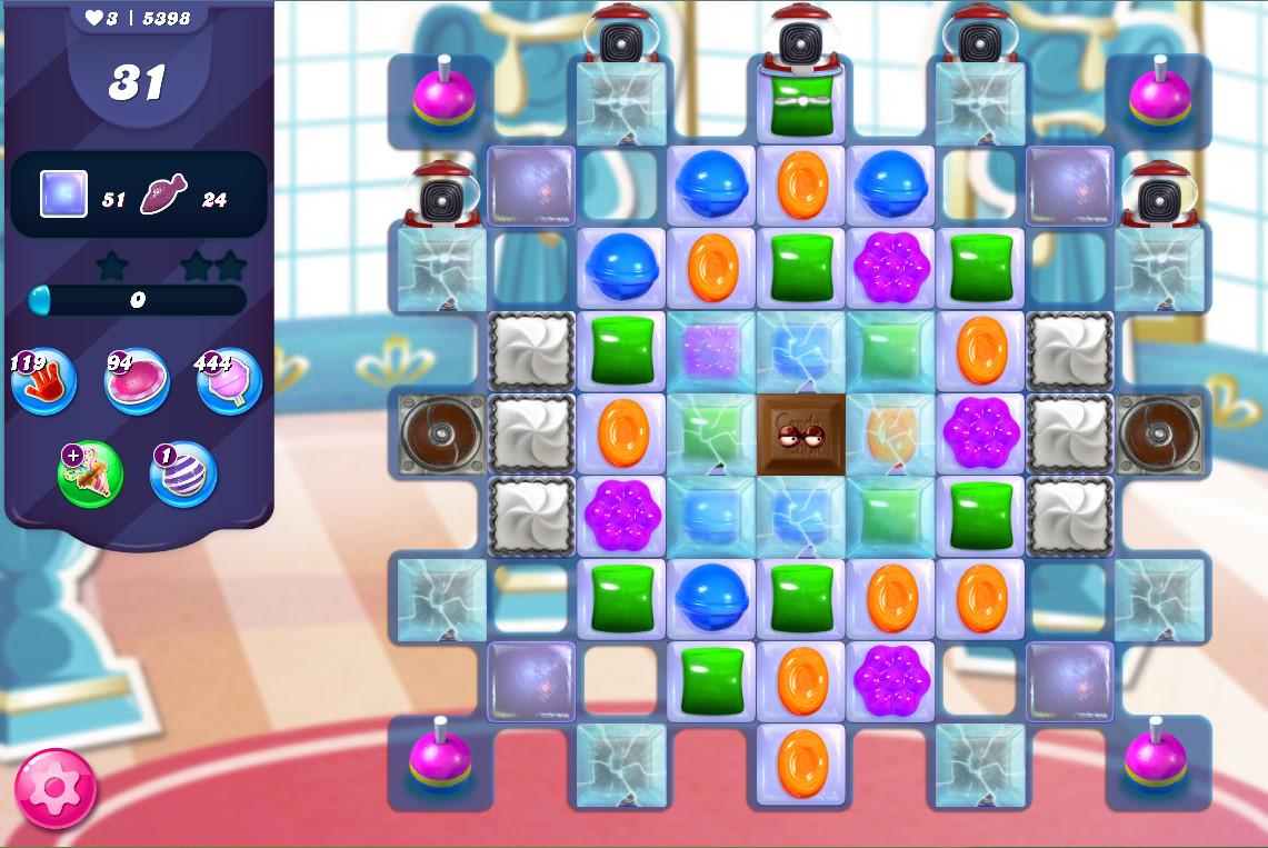 Candy Crush Saga level 5398