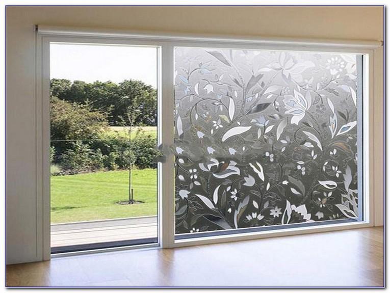 sliding glass door window film