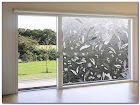Sliding GLASS Door WINDOW Film Decorative