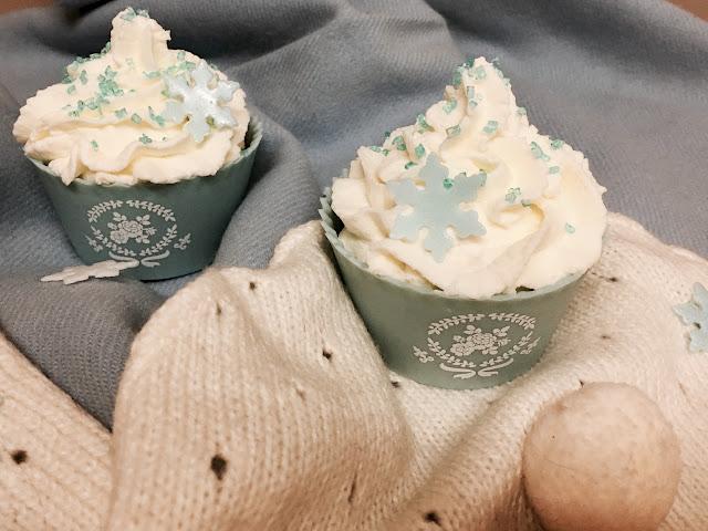 """Frozen"" muffins - babeczki Elsy z Krainy Lodu :)"