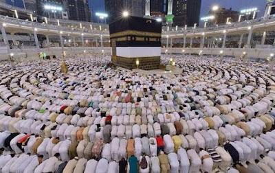 sholat fajar di mesjidil haram