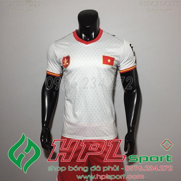 Áo bóng đá đội tuyển Việt Nam Fifa trắng