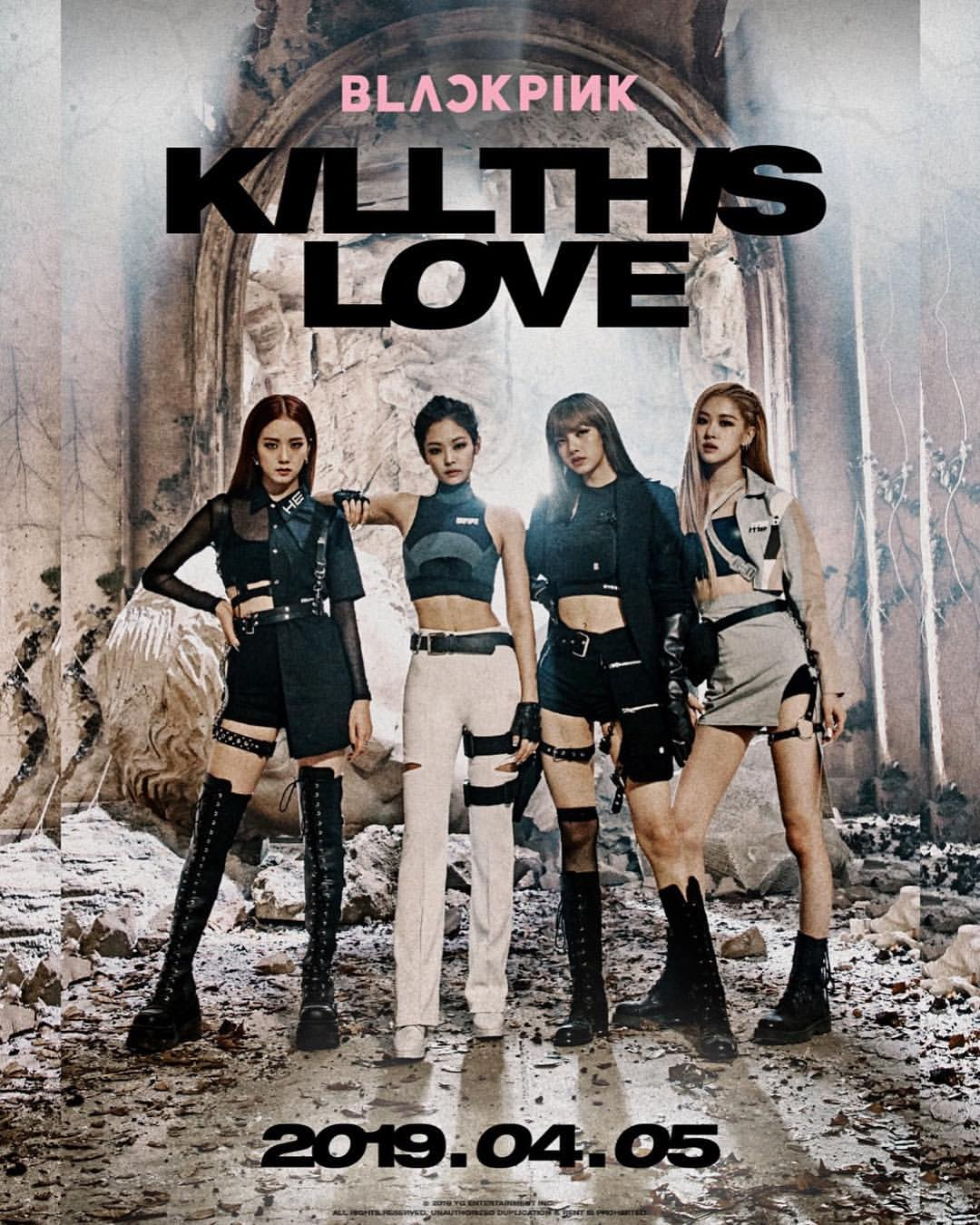 Blackpink Comeback Teaser Photos For Kill This Love